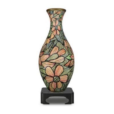 Pintoo-S1007 3D Puzzle Vase - Blumen