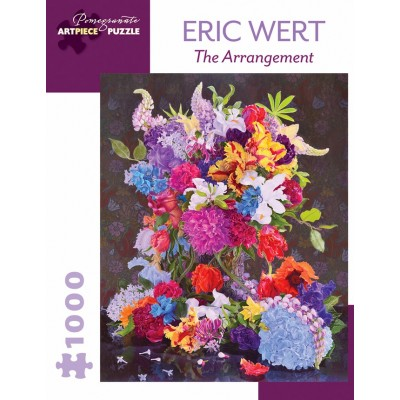 Puzzle  Pomegranate-AA1009 Eric Wert - The Arrangement, 2015