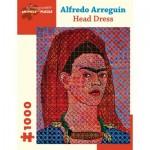 Puzzle  Pomegranate-AA1053 Alfredo Arreguín - Head Dress, 2014