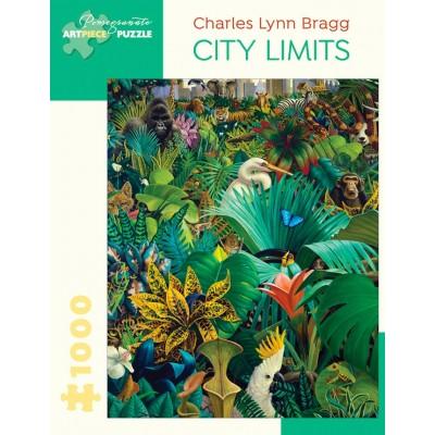 Puzzle  Pomegranate-AA1060 Charles Lynn Bragg - City Limits, 1986