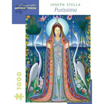 Puzzle  Pomegranate-AA1063 Joseph Stella - Purissima, 1927