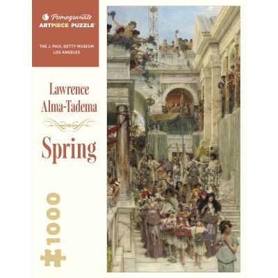 Puzzle  Pomegranate-AA1071 Lawrence Alma-Tadema - Spring