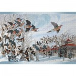 Puzzle  Pomegranate-AA1097 John A. Ruthven - The Last Passenger Pigeon