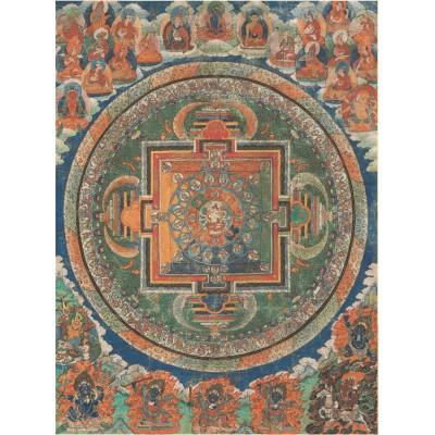 Puzzle  Pomegranate-AA257 Tibetan Buddhist Mandala