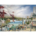 Puzzle  Pomegranate-AA677 Spirit of San Francisco