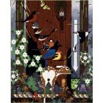 Puzzle  Pomegranate-AA775 Charley Harper: The Sierra Range