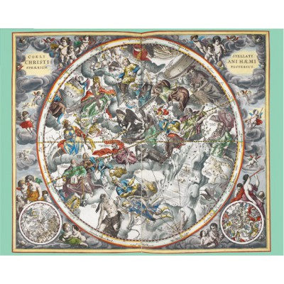 Puzzle  Pomegranate-AA806 Andreas Cellarius: Map of the Heavens