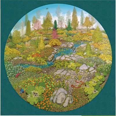 Puzzle Pomegranate-AA810 Bill Martin: Garden of Life