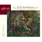 Puzzle  Pomegranate-AA824 E. H. MacDonald - The Tangled Garden