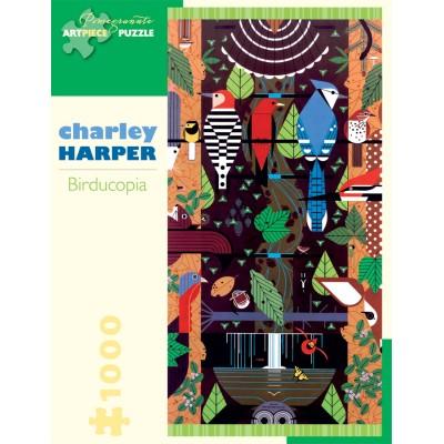 Puzzle  Pomegranate-AA829 Charley Harper - Birducopia