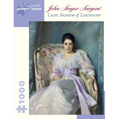 Puzzle  Pomegranate-AA866 John Singer Sargent - Lady Agnew of Lochnaw, 1892