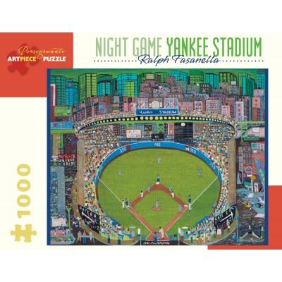 Puzzle  Pomegranate-AA912 Ralph Fasanella - Night Game - Yankee Stadium, 1981