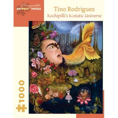 Puzzle  Pomegranate-AA917 Tino Rodriguez - Xochipilli's Ecstatic Universe, 2004