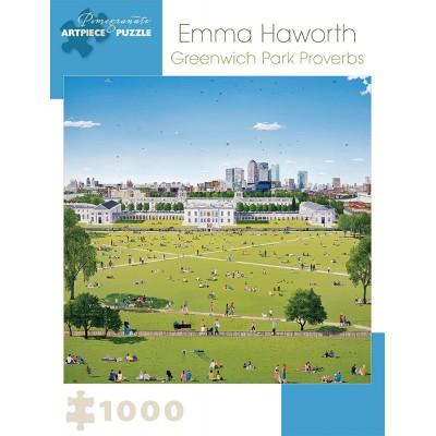 Puzzle  Pomegranate-AA921 Emma Haworth - Greenwich Park Proverbs, 2008