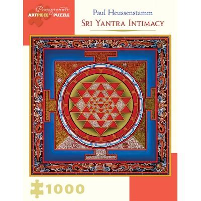 Puzzle  Pomegranate-AA931 Paul Heussenstamm - Sri Yantra Intimacy