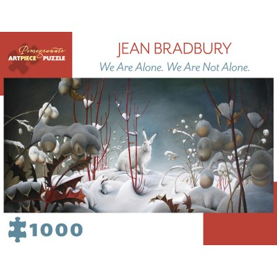 Puzzle  Pomegranate-AA979 Jean Bradbury - We Are Alone. We Are Not Alone., 2010