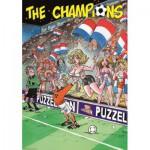 Puzzle  PuzzelMan-025 The Champions: Niederländische Fans
