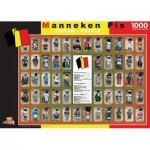 Puzzle  PuzzelMan-06094 Belgien: Manneken Pis