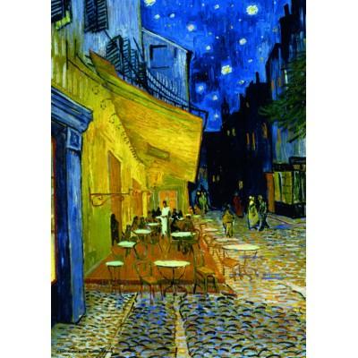 Puzzle  PuzzelMan-088 Van Gogh: Caféterrasse am Abend