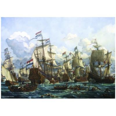 Puzzle  PuzzelMan-128 Seeschlacht 1666