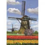 Puzzle  PuzzelMan-155 Zwei Windmühlen in Holland