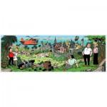 Puzzle  PuzzelMan-184 Suske und Wiske: Amoras Insel