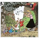 Puzzle  PuzzelMan-223 Suske und Wiske: Flötespielerin