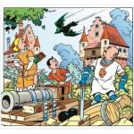 Puzzle  PuzzelMan-224 Suske und Wiske: Die Fledermaus