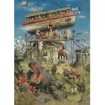 Puzzle  PuzzelMan-262 Marius van Dokkum: die Arche Noah