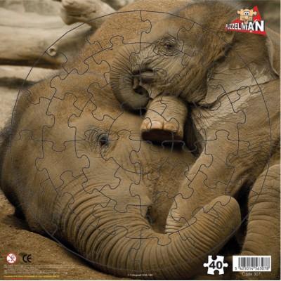 Puzzle  PuzzelMan-307 Elefantenjunge