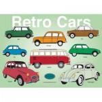Puzzle  PuzzelMan-312 Rosies Factory: Sammlung von alten Autos
