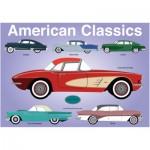 Puzzle  PuzzelMan-313 Rosies Factory: Die amerikanischen Klassiker