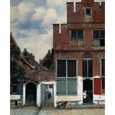 Puzzle  PuzzelMan-386 Kollektion Rijksmuseum Amsterdam - Vermeer Johannes: Die kleine Straße