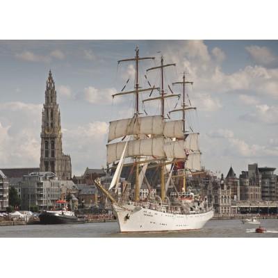 Puzzle PuzzelMan-405 Belgien: Antwerpen
