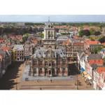 Puzzle  PuzzelMan-425 Delft, die Niederlande: Rathaus