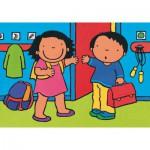 Puzzle  PuzzelMan-508 Noa: Zu Schule