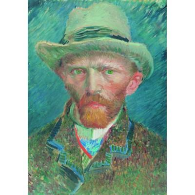 Puzzle  PuzzelMan-551 Kollektion Rijksmuseum Amsterdam - Van Gogh Vincent: Selbstporträt