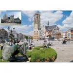 Puzzle  PuzzelMan-643 Belgien: Malines
