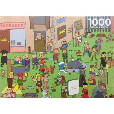 Puzzle  PuzzelMan-755 Humor