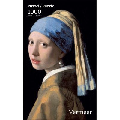 Puzzle  PuzzelMan-762 Jan Vermeer: Das Mädchen mit dem Perlenohrring