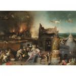 Puzzle  PuzzelMan-768 Hieronymus Bosch: Die Versuchung des Heiligen Antonius