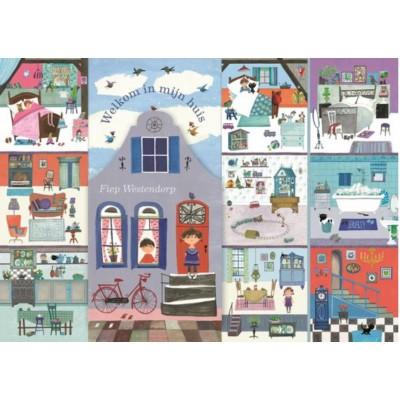 Puzzle  PuzzelMan-783 Fiep Westendorp - Het Huis van Fiep!