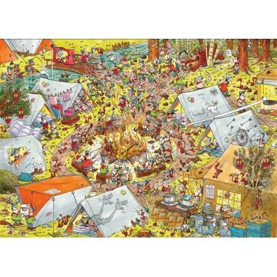 Puzzle PuzzelMan-791 Rene Leisink - Scouting
