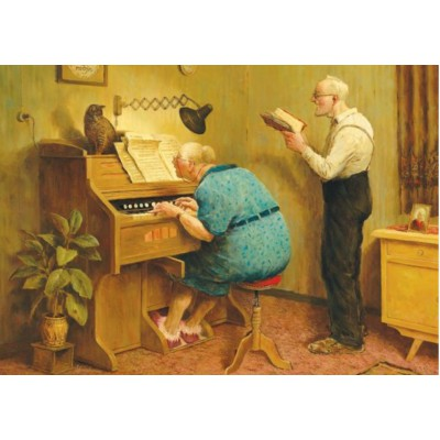 Puzzle  PuzzelMan-793 Marius van Dokkum - Reife Sänger