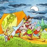 Puzzle  Puzzelman-815 Scouts & Squirrels - Der Alptraum