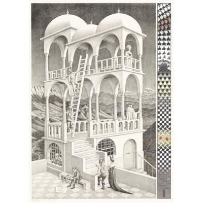 Puzzle  PuzzelMan-832 MC Escher: Belvedere