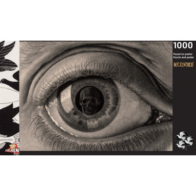 Puzzle  Puzzelman-842 MC Escher - Eye, 1946