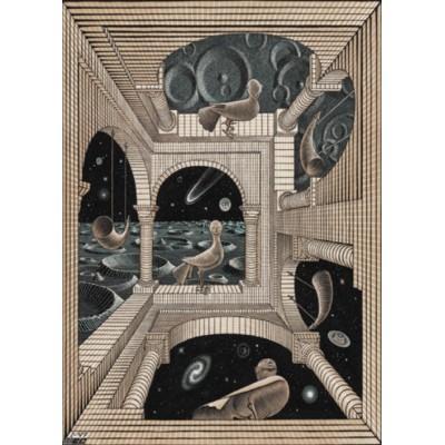 Puzzle  PuzzelMan-863 MC Escher - Different World