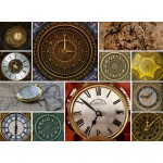 Grafika-Wood-00026 Holzpuzzle - Collages - Clocks