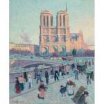 Puzzle-Michele-Wilson-A045-250 Puzzle aus handgefertigten Holzteilen - Maximilien Luce - Notre Dame
